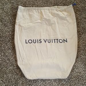 "Louis Vuitton Large Purse Shoe Dust Bag 28"" x 22"""